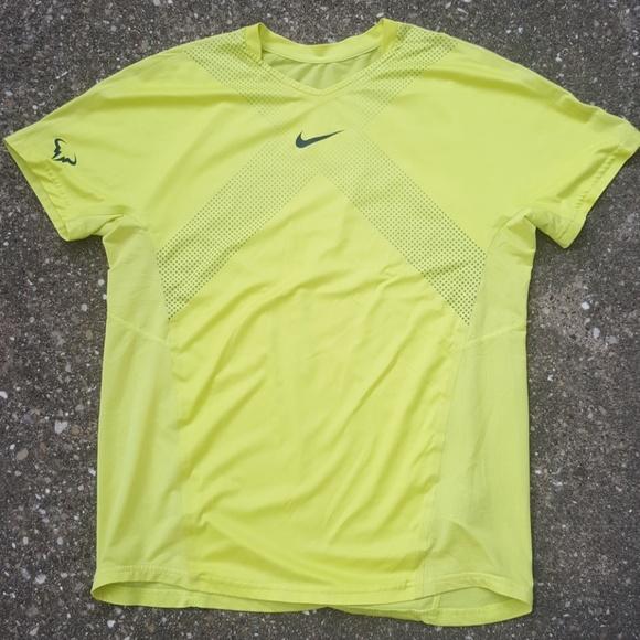Nike Rafael Nadal Rafa Yellow Athletic